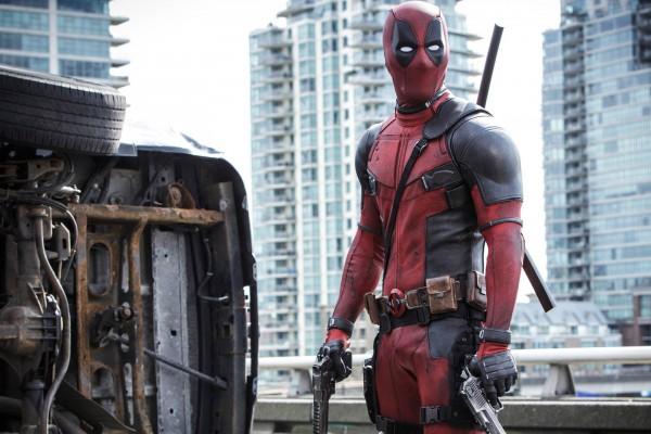 Above: Ryan Reynolds stars in 'Deadpool'