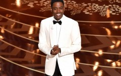 Above: Chris Rock had a lot to say about the #OscarsSoWhite controversy during his opening monologue at the 2016 Academy Awards