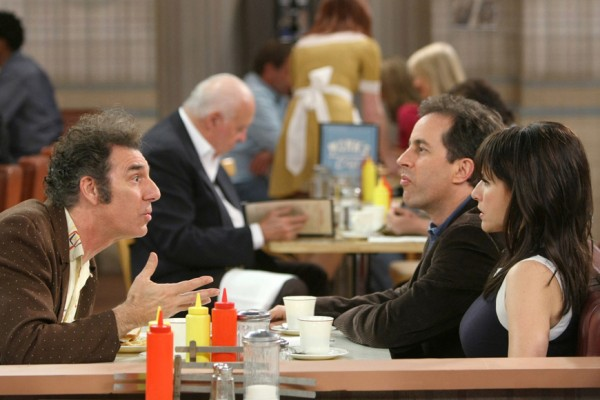 Above: Topher Grace cut together a Seinfeld reunion from Curb Your Enthusiasm's scraps