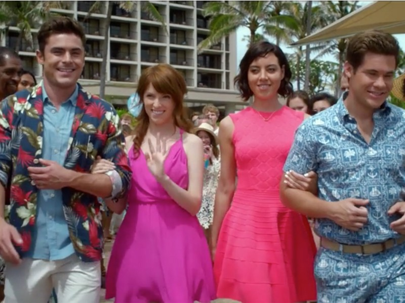 Above: Here's the first trailer for 'Mike & Dave Need Wedding Dates' starring Zac Efron, Anna Kendrick, Aubrey Plaza and Adam Devine