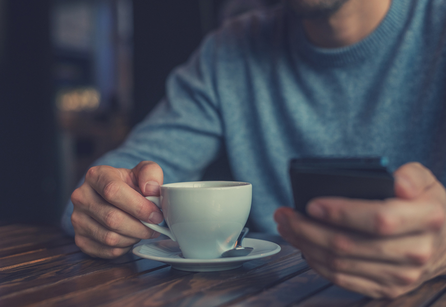 Above: Drinking coffee regularly can slow liver disease, researchers say