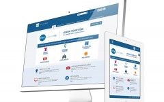 Above: Cancer Care Ontario's site shows Ontarians what steps they can take to help reduce their cancer risk