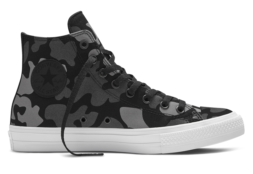 Converse Launches Spring 2016 Chuck Taylor All Star II Reflective Print Collection