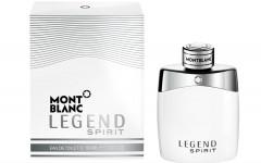 Above: Montblanc's Legend Spirit Eau de Toilette