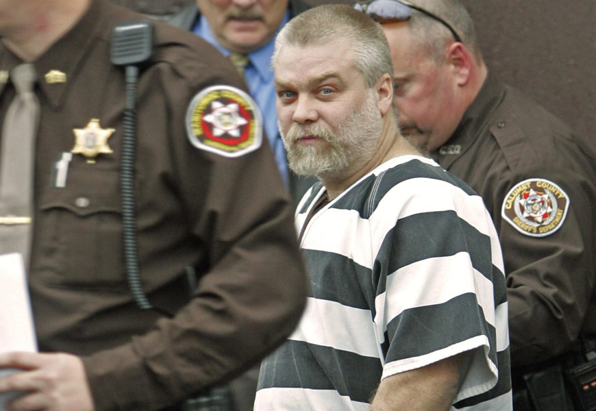 Above: Steven Avery's lawyer Kathleen Zellner claims new suspect could help clear his name
