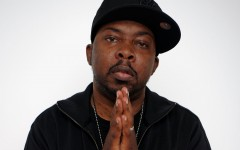 Above: Malik Taylor, rapper known as Phife Dawg of A Tribe Called Quest, in 2011