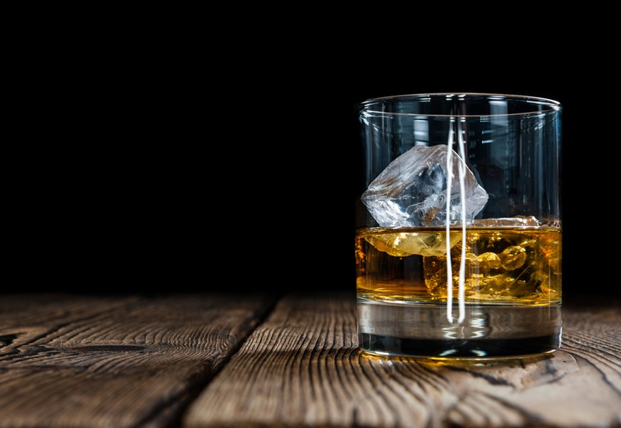 Above: The world is running low on old single malt Scotch