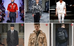 Above: 1. Louis Vuitton 2. Neil Barrett 3. Philipp Plein 4. Les Hommes 5. Belstaff 6. WANT: les essentiels