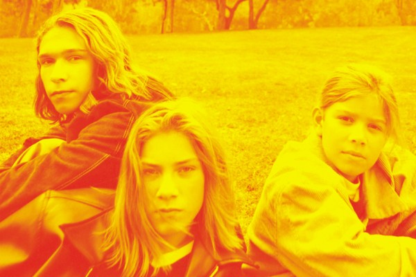 "Above: Hanson would like you to know you've been singing ""MMMBop"" wrong this whole time"