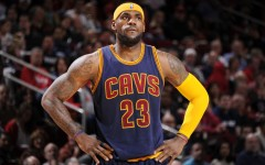 """Above: With Cleveland struggling to find cohesion, should """"King James"""" abdicate the throne take on a more complimentary role?"""