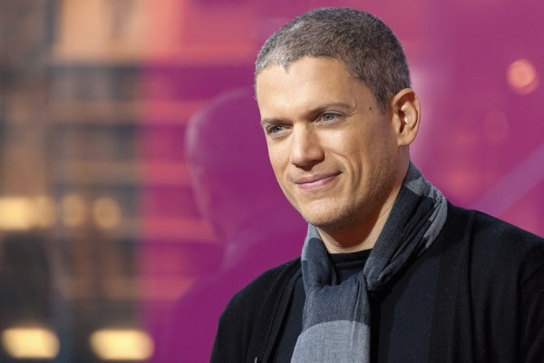 Above: Wentworth Miller
