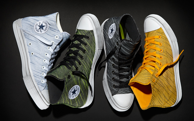 Chuck Taylor All Starr II Knit Collection: high-tops