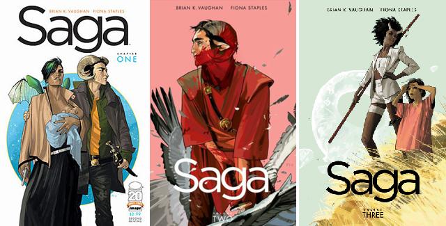 Read These Graphic Novel Series - Saga