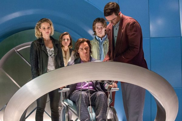 Above: Director Bryan Singer returns with 'X-Men: Apocalypse'