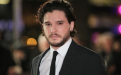Above: 'Game Of Thrones' actor Kit Harington calls out sexism towards men