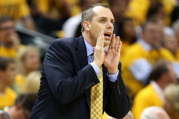 Above: The Indiana Pacers may regret parting ways with head coach Frank Vogel
