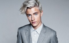 Above: 17-year-old Lucky Blue Smith has taken the fashion industry by storm