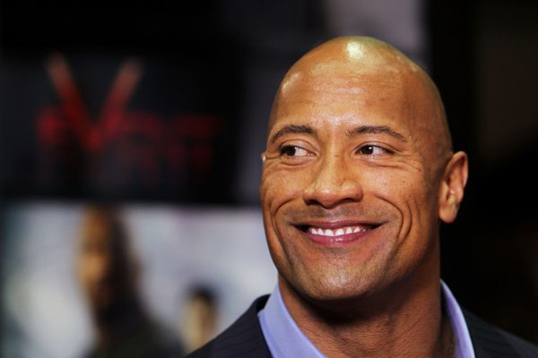 Above: The Rock is the highest-paid actor in the world