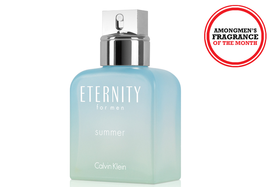 Above: Calvin Klein's Eternity Summer for Men Eau de Toilette