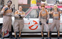Above: The new heroes of Ghostbusters