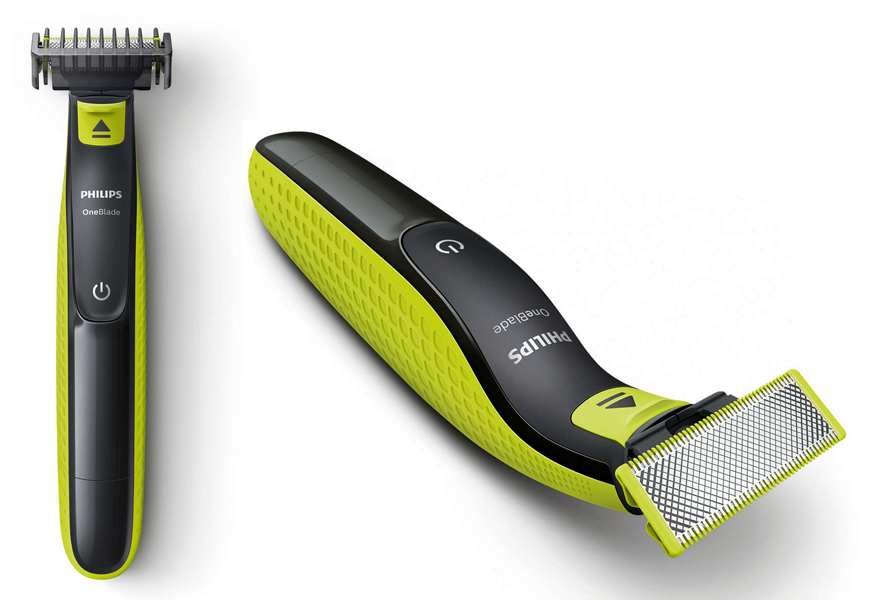 Above: The new Philips OneBlade