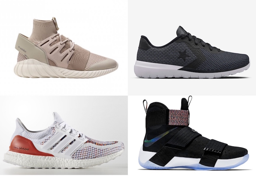 Above: Some of Summer 2016's hottest kicks.