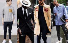 Above: Some of Instagram's most stylish gents (L-R): Frederik Risvik, Jason Andrew, Matthew Zorpas, and Frederik Lentz Andersen