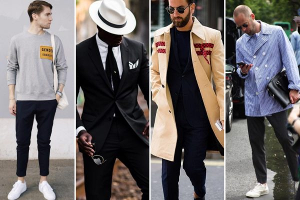 Above: Some of Instagram's most stylish gents (L-R): Frederik Risvik, Jason Andrew, Matthew Zorpas, and Frederik Lentz Andersen