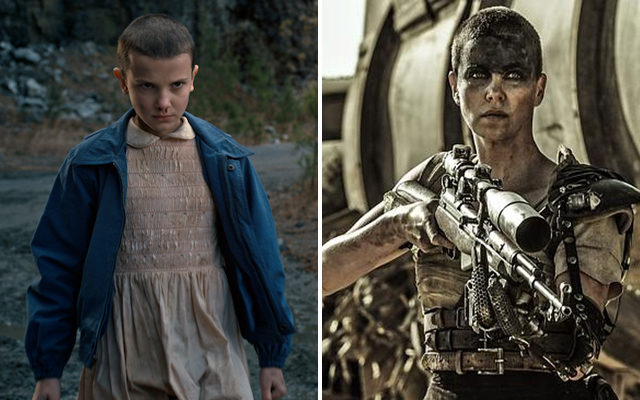 20 Facts You Probably Didnt Know About Netflix Stranger Things - Millie Bobby Brown and Charlize Theron