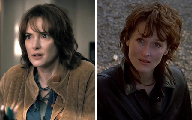 20 Facts You Probably Didnt Know About Netflix Stranger Things - Winona Ryder and Meryl Streep