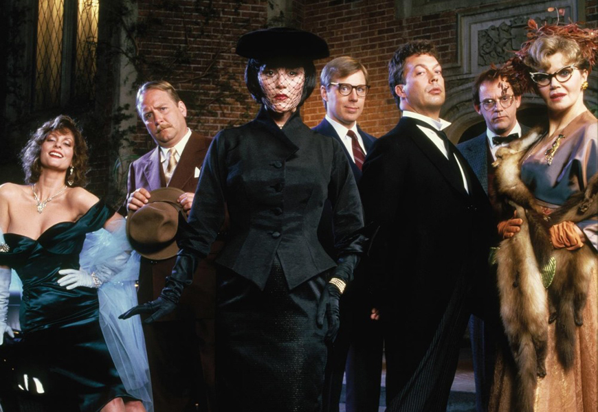 Above: Over three decades after the last cinematic adaptation of Clue, 20th Century Fox has picked up the rights to remake the classic board game