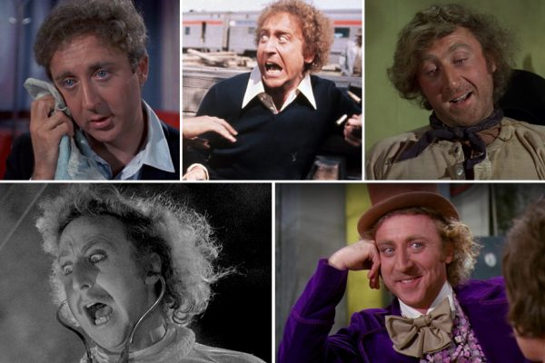 Above: 5 of Gene WIlder's most memorable movies