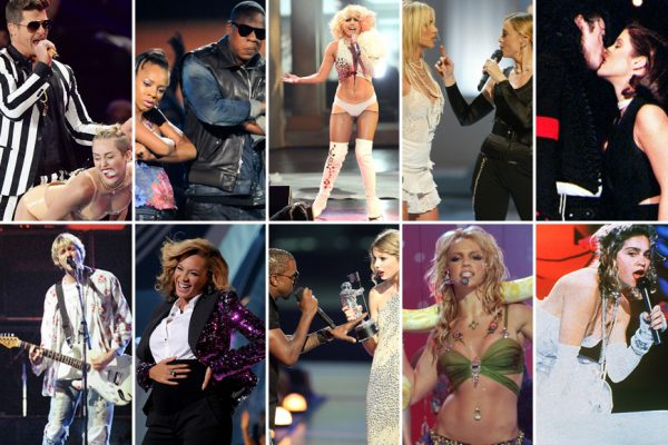 Above: 10 of the most memorable moments in the history of the MTV Video Music Awards