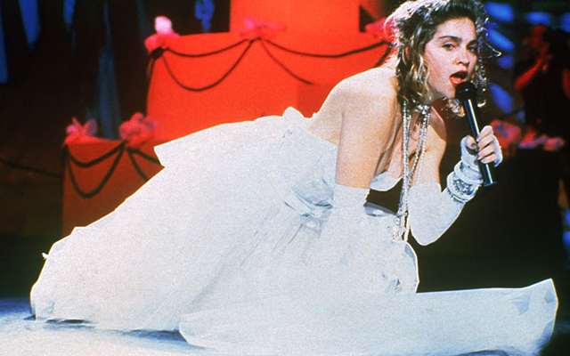 The 10 Most Memorable MTV VMA Moments In History - Madonna Like A Virgin 1984