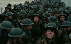Above: Allied soldiers await their fate on the beaches of WWII France