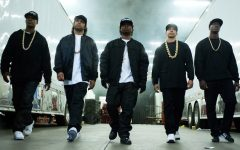 Above: 'Straight Outta Compton' is one of the best hip-hop films in recent memory