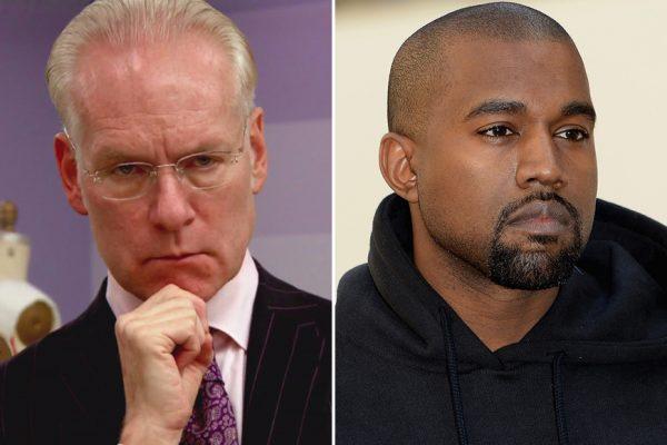 Above: Tim Gunn vs. Kanye West round 2