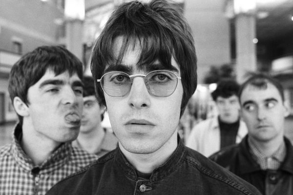 Above: 'Supersonic' chronicles the rise and fall of Oasis