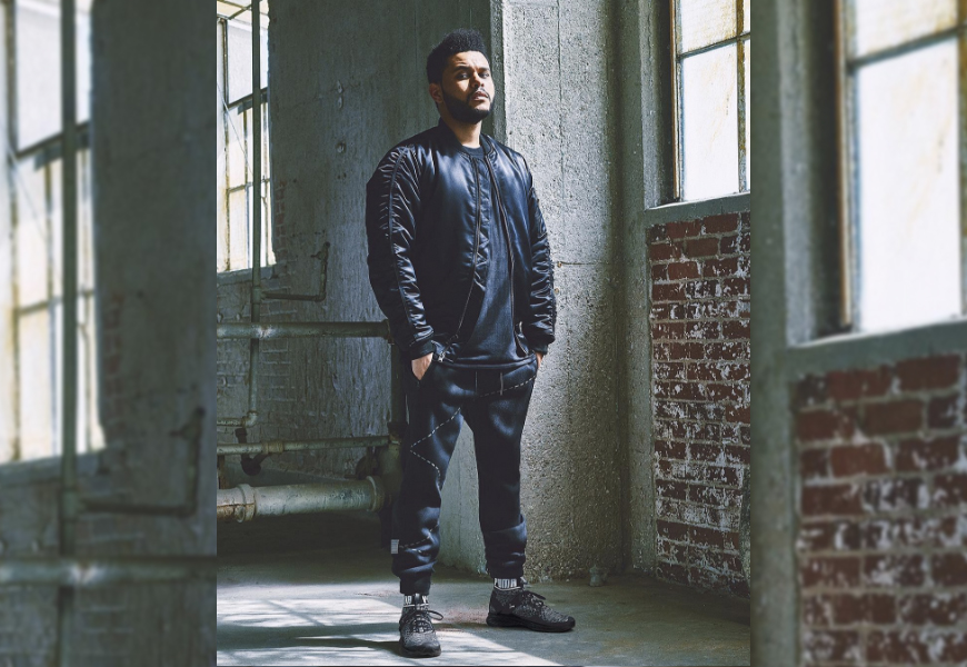 Above: The Weeknd will also act as Creative Collaborator