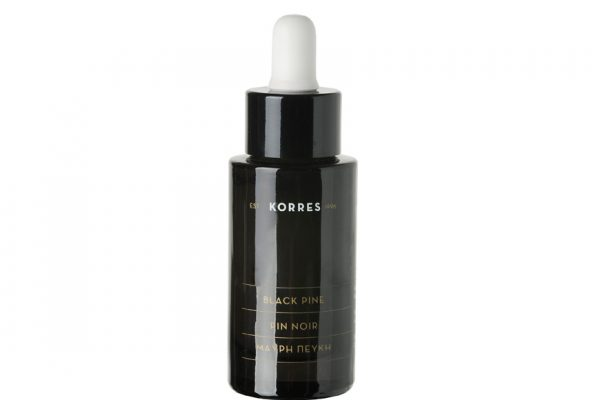Above: Korres Black Pine Active Firming Sleeping Oil