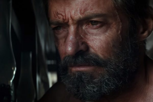 Above: Hugh Jackman plays an older, less ferocious version of X-Men's most notorious mutant in 'Logan'