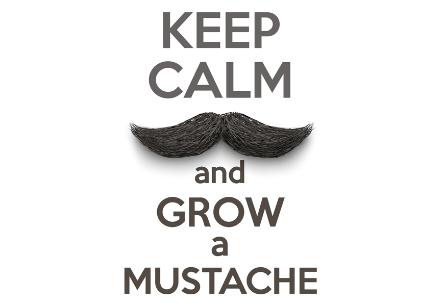 Above: Start Twirling Your Moustache, It's Movember!