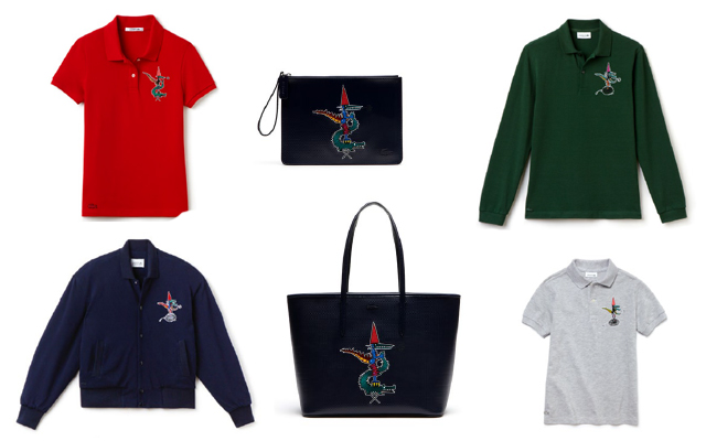 Lacoste Releases Jean-Paul Goude Holiday Collection