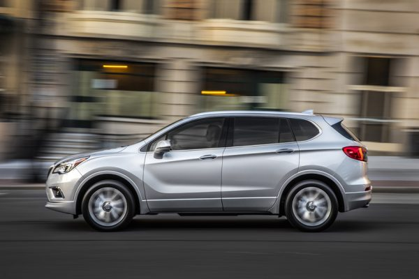 Above: The all new 2017 Buick Envision