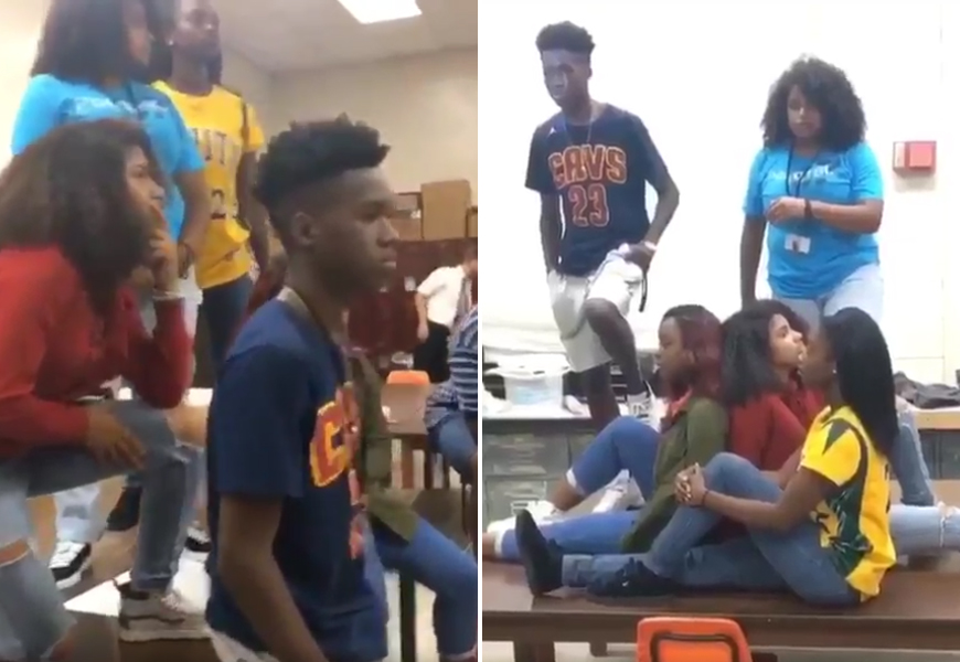 Above: The first known appearance of the #MannequinChallenge surfaced on Twitter in late October