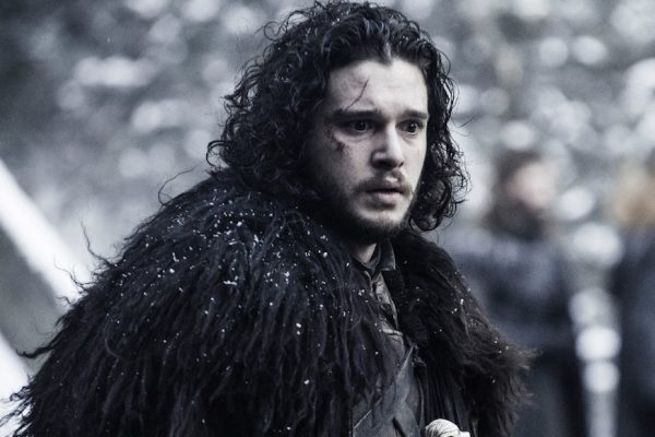 Above: Kit Harington collects one of TV's biggest paychecks
