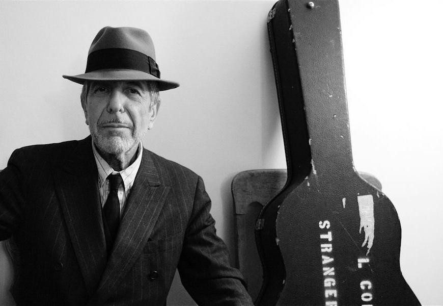 Above: Leonard Cohen (1934-2016)