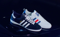 Above: Adidas and Palace link up for a series of new pieces