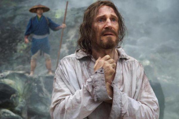 Above: Liam Neeson is Cristóvão Ferreira