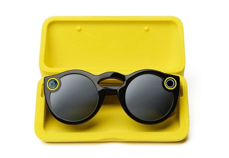 Above: The Snapchat Spectacles are now available for purchase.